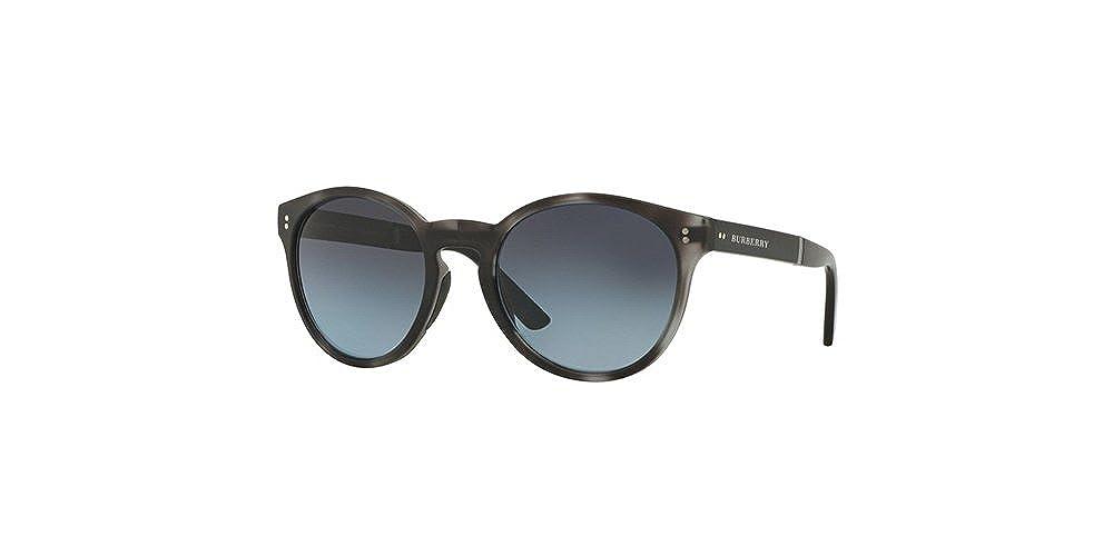 d8b7c400a8 Amazon.com  Burberry BE4221 3596K4 Matte Grey Havana BE4221 Round Sunglasses  Polarised Lens  Clothing