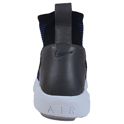 Nike Zoom Air Mercurial Xi Flyknit Scarpe Da Uomo Sneaker Sneakers Blu 844626 004, Misura: 44