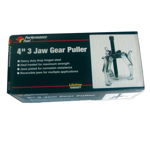 """4"""" HEAVY-DUTY 3-JAW GEAR PULLER, Manufacturer: PERFORMANCETOOL, Part Number: 9020-AD, VPN: W136P-AD, Condition: New"""