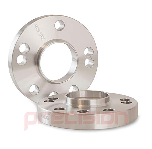 Precision 1 Pair of Hubcentric 20mm Alloy Wheel Spacers for Ḟord Fiesta