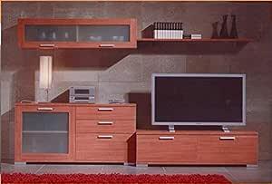MUEBLES MATO - Mueble de Salon lau Color Cerezo: Amazon.es: Hogar