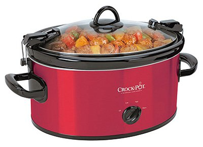 Find Cheap Cadet Crock-Pot SCCPVL600S Cook' N Carry 6-Quart Oval Manual Portable Slow Cooker, Stainl...