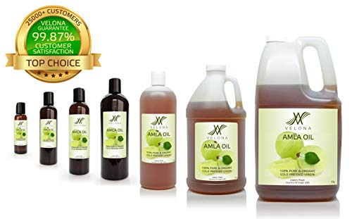100% Organic AMLA Oil by Velona | All Natural Clear Carrier