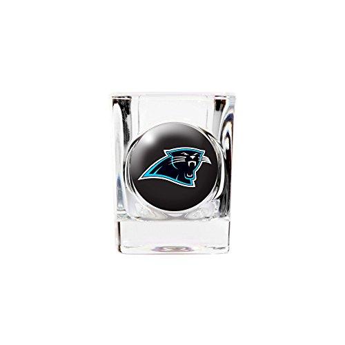 Roy Rose Gifts NFL Carolina Panthers 2oz Square Shot Glass
