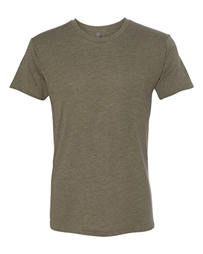 Army Outfit Men (Next Level 6010 Men's Tri-Blend Crew Tee - XXX-Large - Military Green)