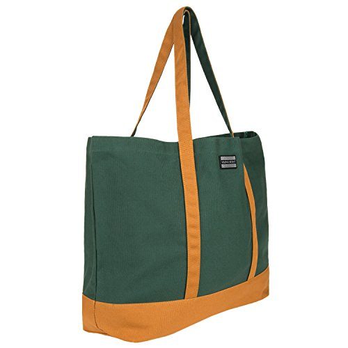 Bag Fall Use Tote Casual Look Fashion Classic Canvas color Shopping wristlet Bag New Pine matching with vxqdIH