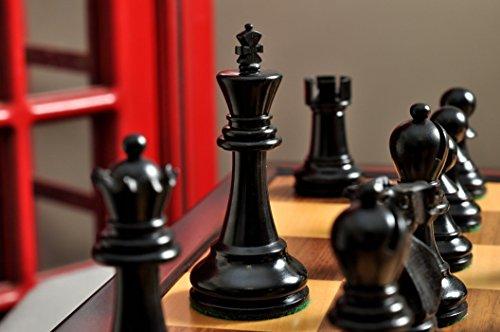 Staunton 3 3/4' King - The Reykjavik II Series Tournament Chess Set and Tiroir Combination - by The House of Staunton