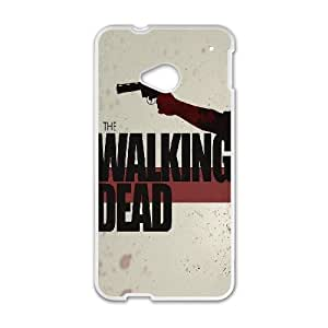 HTC One M7 Cell Phone Case White The Walking Dead RUP Online Phone Covers