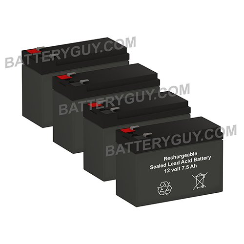 APC SMART-UPS RM SUA1000RM2U replacement battery pack (rechargeable) - BGH-1275F2 (Qty of - Ups Day Price Next Delivery
