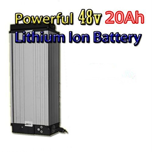 48V 20Ah Lithium Battery with 4A Charger, High Powerful 48V 1500W Electric Bike Battery, E-Bike Battery 48V 20Ah for Electric Bicycle and 1000W/1500W Motor. For Sale