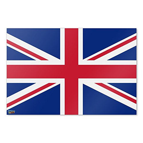 United Kingdom Great Britain Union Jack Country Flag Home Business Office Sign - Poster - 24