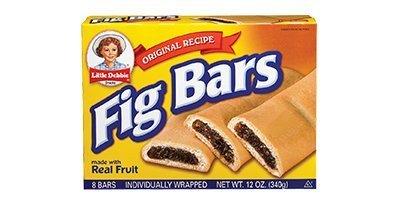 Little Debbie Fig Bars 12 Oz (16 Boxes)