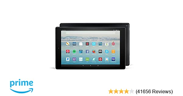 Fire HD 10 Tablet with Alexa Hands-Free, 10 1