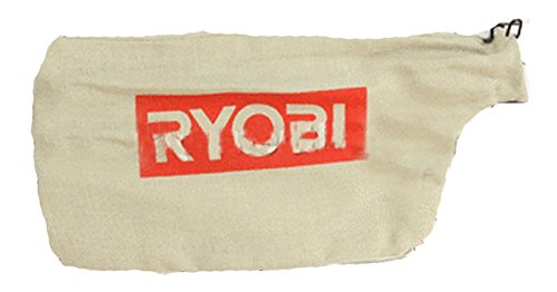 Ryobi TS1142L Compound Miter Saw Replacement Dust Bag W/Wire # 089240003084