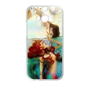 HTC One M8 Little mermaid Phone Back Case DIY Art Print Design Hard Shell Protection MN098638