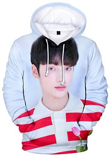 babyHealthy Kpop TXT The Dream Chapter Star 3D Digital Print Huening Kai Yeonjun Soobin Taehyun Beomgyu Hoodie Pullover Sweatshirt