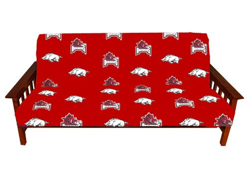 College Covers NCAA Arkansas Razorbacks Futon Cover, Full