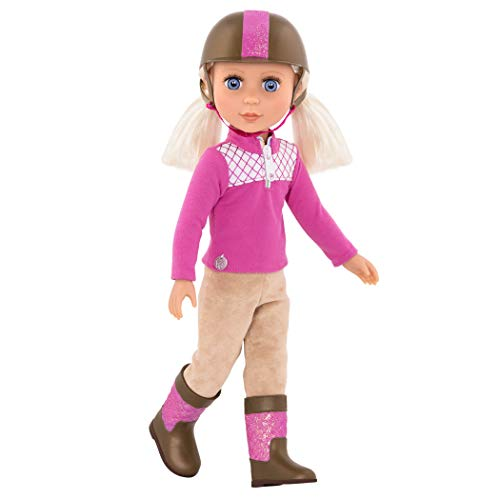 Glitter Girls by Battat - Ride and Shine Deluxe Equestrian Outfit - 14 inch Doll Clothes and Accessories for Girls Age 3 and Up - Children's Toys ()