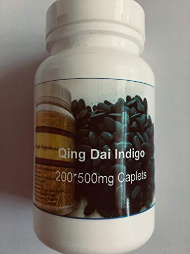 Concentrated Granules - 200 * 500mg Vegi-Capsules-Qing Dai - Indigo Concentrated Granules as Sources-100g Treasure of East ...