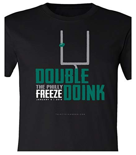 - 36 and Oh! Double Doink Philly Freeze T Shirt 2019 Soft Style (Large)