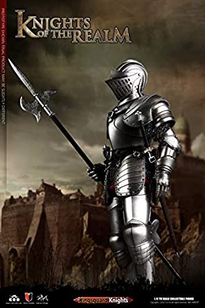 COOMODEL SE038 1:6th KNIGHTS OF THE REALM metal silver Shoulder armor A model