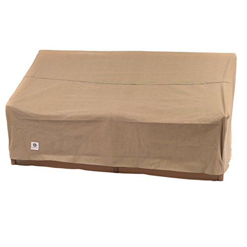 Wide Loveseat (Duck Covers Essential Patio Loveseat Cover, 70-Inch)