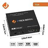 J-Tech Digital 4K 60HZ HDMI Audio Extractor