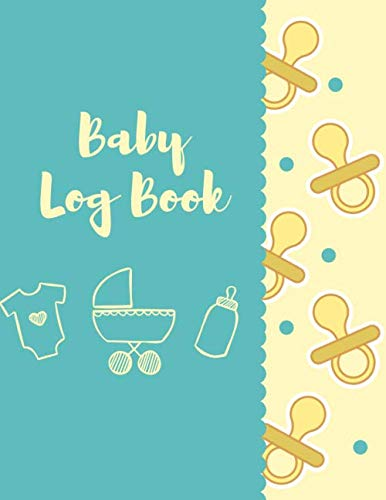 Baby Log Book: Helps Daily To Record Sleep, Feed, Poop Diapers Change, Activities And Supplies Needed - Tracker for Newborns, Breastfeeding Journal, ... Nannies 8.5x11 110 Pages With Great Pattern