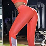 Yoga Pants Leggings Mid-Waist High-Waist Tummy