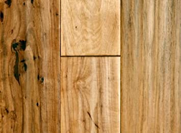 Lovely Solid Hardwood Flooring: Virginia Mill Works 3/4 X 5 Hickory Handscraped  Solid Hardwood