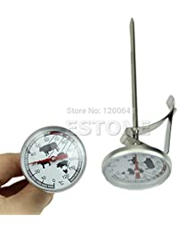 Access 1 Piece Stainless Steel Instant Read Probe Thermometer BBQ Food Cooking New Meat Gauge wholesale