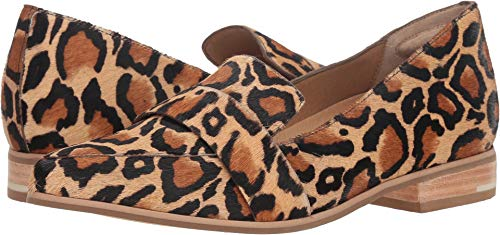 - Dr. Scholl's Women's Faxon - Original Collection Tan Multi Leopard Pony Hair 9.5 M US