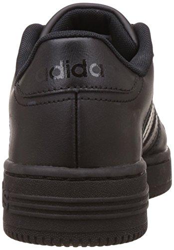 adidas Team Court, Zapatillas de Deporte Exterior Para Niños Negro (Black)