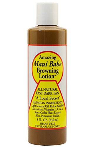 Maui Babe Browning Lotion 8 Ounces (Collections Babe)