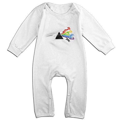 (MoMo Pink Floyd Eevee Evolution KidsToddler Romper Playsuit Outfits 18 Months)