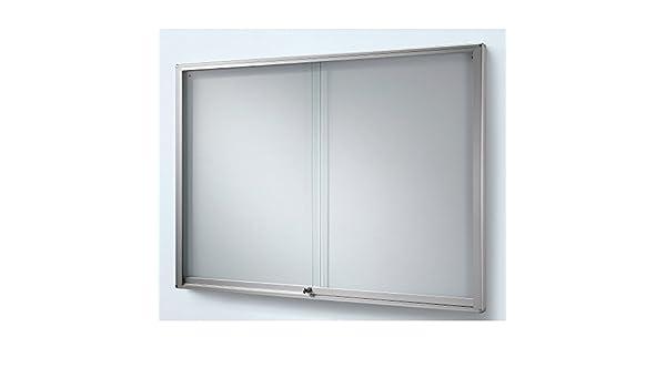 Estuche para puerta corredera, WxH 1330 x 970 mm, capacidad 18 x ...