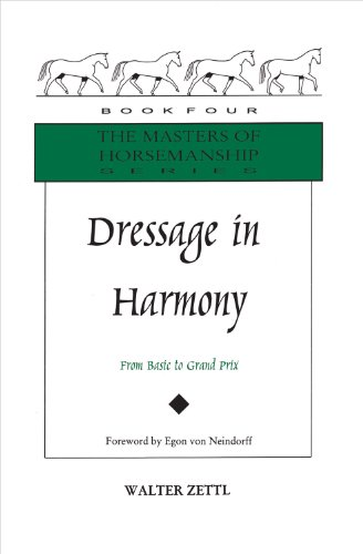 Dressage in Harmony: From Basic to Grand Prix (Masters of Horsemanship Series) by Brand: Half Halt Press