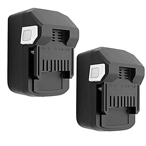 18v Hitachi Battery - VANON 4.0Ah BSL1830 Battery for Hitachi, 18V Li-ion 2 Pack Replacement Battery for Hitachi BSL1830 BSL1840 DS18DSAL 330067 330068 330139 330557(NOT FIT FOR BSL1815X)