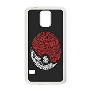 Pokeball Pokemon Pikachu Hard Snap phone case cover for samsung galaxy S5 I9600 case TSL131400