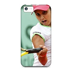 Awesome Sania Mirza 2012 Flip Cases With Fashion Design For Iphone 5c