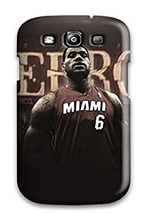 New Style sports nba lebron james baskets miami heat NBA Sports & Colleges colorful Samsung Galaxy S3 cases 3505811K528666906