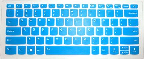 "BingoBuy US Layout Keyboard Protector Skin Cover for Lenovo Yoga 720-15IKB, 520s 14, Flex 6-14IKB, Flex 5 14 & 15, 120s 14, 320s 14, 330 330s 14, 530s 15"" (Blue)"