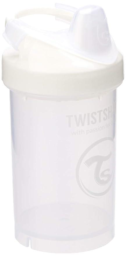 Twistshake 78063 - Vaso con boquilla, color blanco
