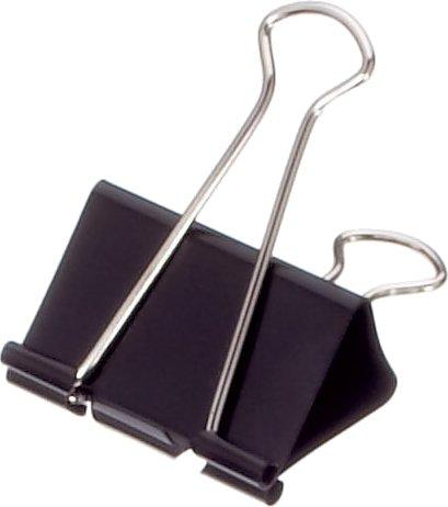 Maul Foldback-Klemmer mauly 215, Breite 19 mm, schwarz, 20x12 St., 2151990