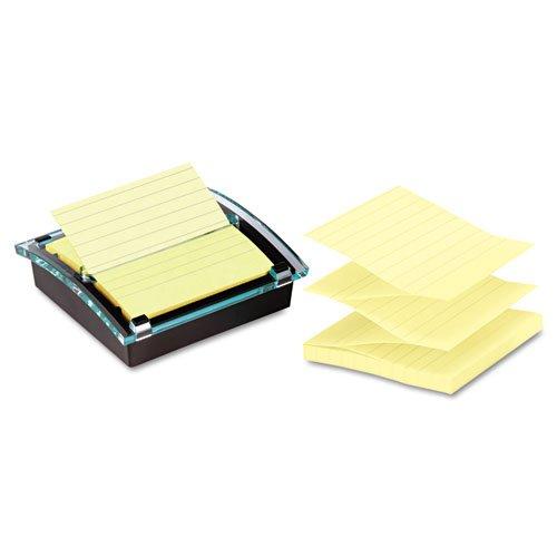 Post-it Pop-up Notes Super Sticky - Super Sticky Pop-up Note Dispenser/Value Pack, 4 x 4 Self-Stick Notes,Black DS440-SSVP (DMi PK