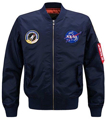 4xl Manteaux Coat Air Vol Yyzyy B8805 Ma1 Bomber bleu Couleur Force Xs Blousons 16 Classique Homme Veste Jacket Aviateur Flight Marine Pilot xwtt6UgCq