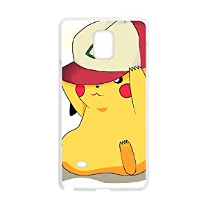 Pikachu Samsung Galaxy Note 4 Cell Phone Case White pvr dlss