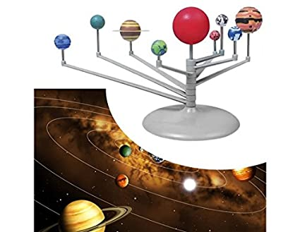 Buy Solar System 9 Planets Planetarium Model Kit Astronomy