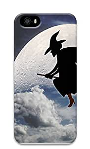 iPhone 5 5S Case Halloween Witch 3D Custom iPhone 5 5S Case Cover