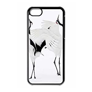 Red crowned Crane Phone Case For Iphone 5C [Pattern-1]
